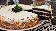 Как приготовить торт на сметане и сгущенном молоке