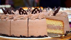 Как приготовить вкусный праздничный торт