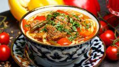 Как вкусно приготовить узбекский лагман