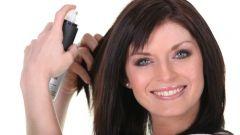 Как пользоваться сухим лаком для волос
