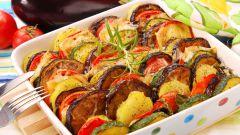 Как приготовить запеканку из кабачков и баклажанов