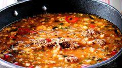 Как приготовить суп харчо: быстрый рецепт