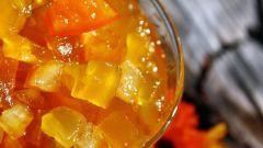 Как приготовить варенье из кабачков с апельсинами