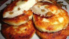 Как быстро приготовить вкусные сырники с изюмом