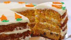 Как приготовить морковный торт с лимоном