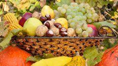 Какие плоды необходимо есть в ноябре