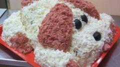 Как приготовить на новый 2018 год салат «Собачка»