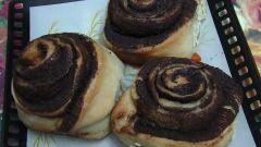 Как испечь булочки с корицей «Розочки»
