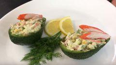 Как приготовить вкусный салат с авокадо: рецепт с фото