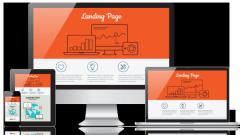 Какие блоки включает Landing Page