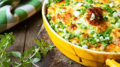 Как приготовить запеканку из кабачков и картошки с куриным фаршем