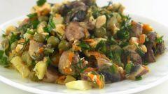 Как приготовить очень вкусный салат из курицы без майонеза