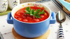 Как приготовить фасолевый суп с охотничьими колбасками