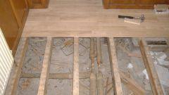 Как сделать настил деревянного пола своими руками