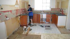 Как сделать ремонт на кухне за пять дней своими руками