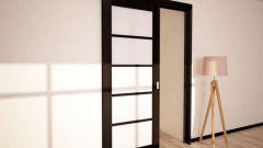 Как сделать раздвижные двери на роликах своими руками
