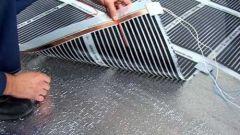 Как сделать теплый пол под линолеум на деревянный пол