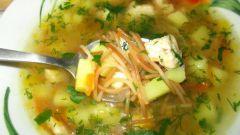 Как вкусно приготовить куриный суп с вермишелью