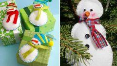Как сделать снеговика из фетра для новогоднего декора