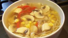 Как приготовить грибной суп: быстрый рецепт