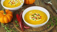 Как приготовить тыквенный суп-пюре: рецепт