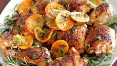 Как приготовить куриные бедра в апельсиновом маринаде
