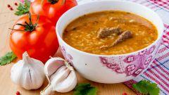 Как приготовить суп харчо: рецепт