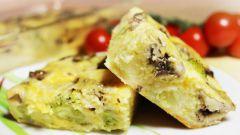 Как приготовить запеканку из брокколи с грибами и сыром