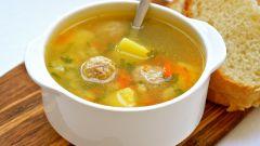 Как вкусно приготовить суп с фрикадельками и рисом