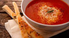 Как приготовить томатный суп: рецепт