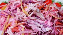 Как приготовить французский салат со свеклой