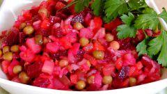 Как вкусно приготовить винегрет из квашеной капусты