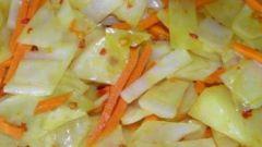 Как сделать маринованную капусту быстрого приготовления
