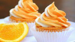 Как приготовить легкий апельсиновый крем