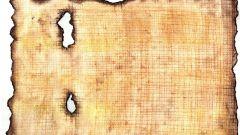 """Как сделать """"папирус"""" из подручных материалов"""