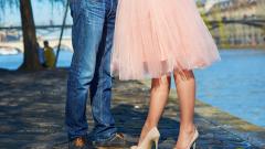 Как и с чем носить пышную юбку из фатина