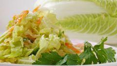 Как приготовить салат из пекинской капусты и куриной грудки