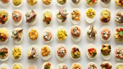 Как приготовить фаршированные куриные яйца