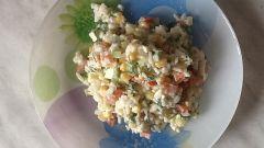"""Как сделать вегетарианский """"крабовый"""" салат"""