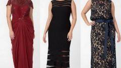 Как выбрать платье для полной девушки