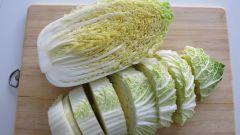 Как приготовить постные салаты из пекинской капусты