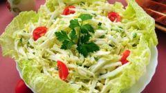 Как приготовить диетические блюда из пекинской капусты