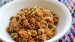 Как приготовить мджедарра - постное блюдо из риса и бобовых