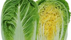 В чем заключается польза пекинской капусты