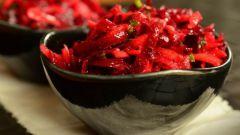 """Как приготовить свекольный салат """"Аленка"""""""