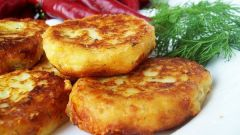 Как приготовить постные котлеты из картофеля
