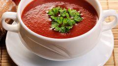 Как приготовить суп-пюре из томатов
