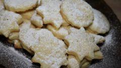 Рецепт приготовления нежного творожного печенья