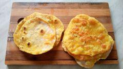Как сделать быстрые индийские лепешки со специями