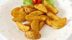 Как просто приготовить картофель по-деревенски дольками